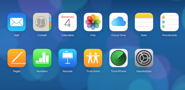 come usare icloud