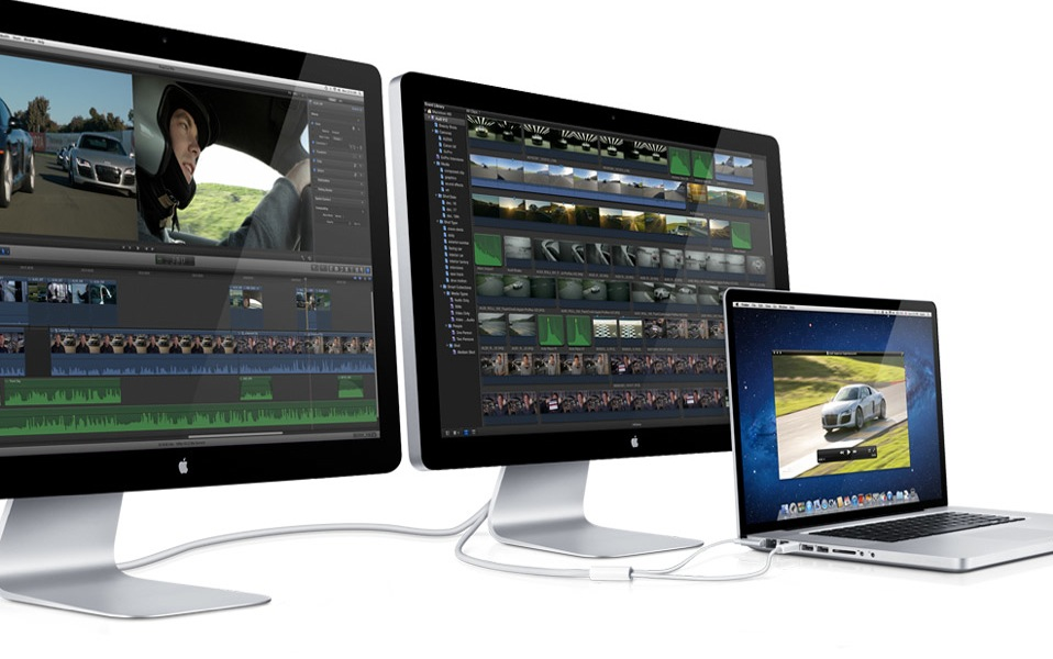 Apple thunderbolt display il primo monitor con porta - Monitor con porta thunderbolt ...