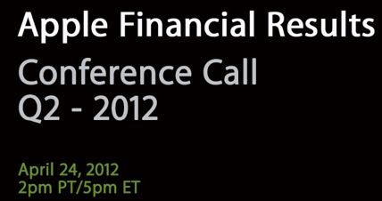 apple conference call financial q2 2012 melarumors risultati finanziari q2 2012 conference call apple