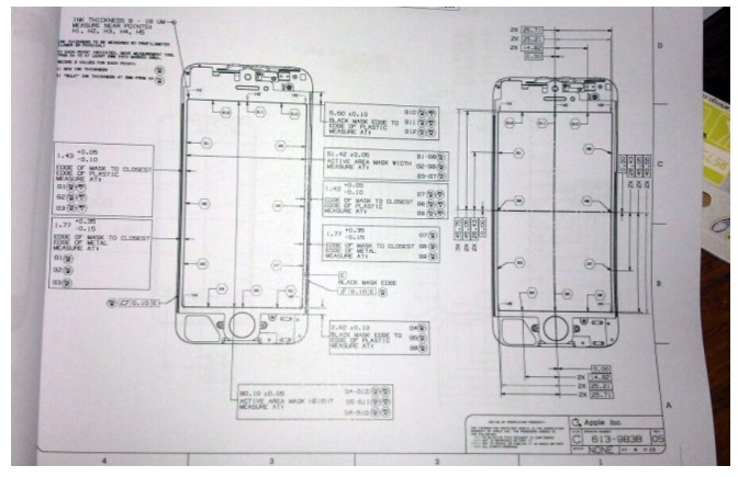 Iphone Schema Elettrico Display Modifiche Melarumors on Iphone 5 Schematic Diagrams