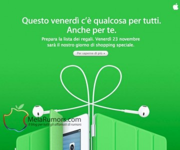 black friday 2012 apple store melarumors 360x300 offerte black friday apple store 23 novembre 2012