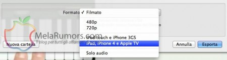 guida convertire film ipad con quicktime melarumors 3