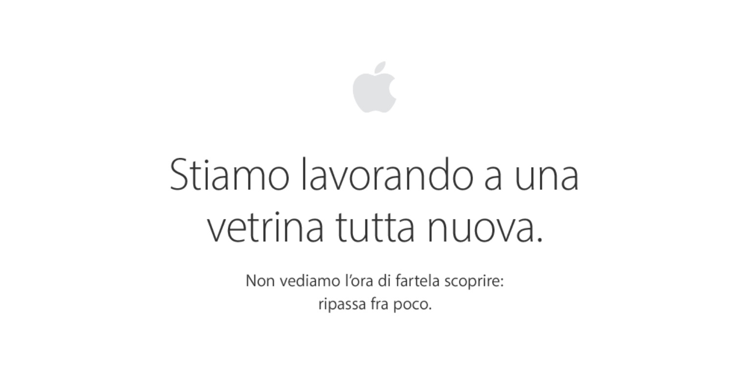 Apple Store Offline: arrivano i nuovi iPhone 7 e iPhone 7 Plus