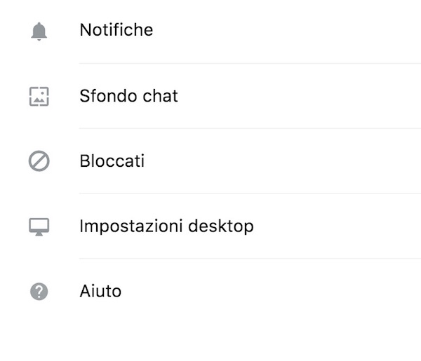 cambiare sfondi chat whatsapp pc mac