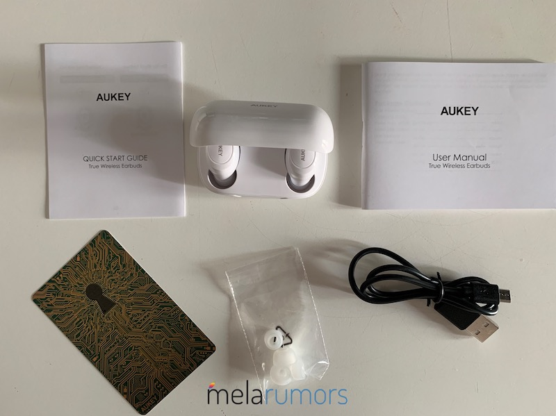 auricolari wireless aukey ep-t16s