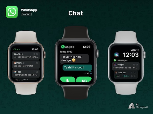 whatsapp apple watch concept