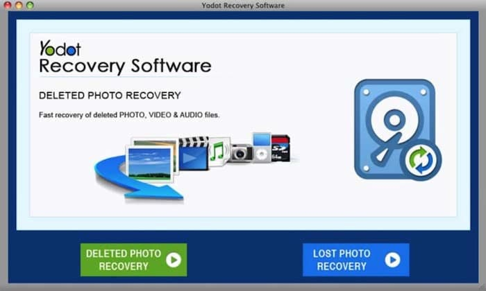 yodot data recovery software mac